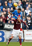 26.01.2020 Hearts v Rangers: Liam Boyce and Connor Goldson