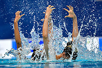 GALLO Veronica, MURRU Marta ITA <br /> DUET FREE Final <br /> Artistic Swimming<br /> Budapest  - Hungary  14/5/2021<br /> Duna Arena<br /> XXXV LEN European Aquatic Championships<br /> Photo Andrea Staccioli / Deepbluemedia / Insidefoto