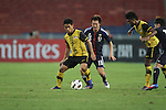 Malaysia vs Japan during the Olympic Qualifying 2012 Group C stage match on February 22, 2012 at the National Stadium in Kuala Lumpur, Malaysia. Photo by World Sport Group