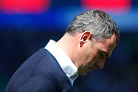 Reading manager Paul Clement prior to kick off of the Sky Bet Championship match between Cardiff City and Reading at The Cardiff City Stadium, Wales, UK. Sunday 06 May 2018