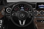 Car pictures of steering wheel view of a 2017 Mercedes Benz C-Class - 2 Door Convertible Steering Wheel