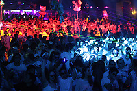 Bal en Blanc durant la fin de semaine de pâque, avril 2013.<br /> <br /> Photo :  Agence Quebec PresseApril 1st 2013 - Montreal, Quebec,  CANADA -  Bal en Blanc mega rave at Montreal Convention Centre
