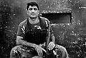 Iraq 2008.A peshmerga of PUK in Baghdad.<br /> Irak 2008.Un peshmerga des forces speciales de l'UPK a Baghdad