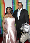 Aretha Franklin and boyfriend William Wilkerson attending the 35th Kennedy Center Honors at Kennedy Center in Washington, D.C. on December 2, 2012
