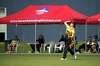 Georgia Plimmer during the women's Hallyburton Johnstone Shield one-day cricket match between the Wellington Blaze and Central Hinds at Donnelly Park in Levin, New Zealand on Sunday, 6 December 2020. Photo: Dave Lintott / lintottphoto.co.nz