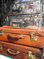 Vintage Suitcases, Portobello Market - London