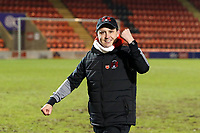 O's boss Ross Embleton at ft during Leyton Orient vs Morecambe, Sky Bet EFL League 2 Football at The Breyer Group Stadium on 16th January 2021