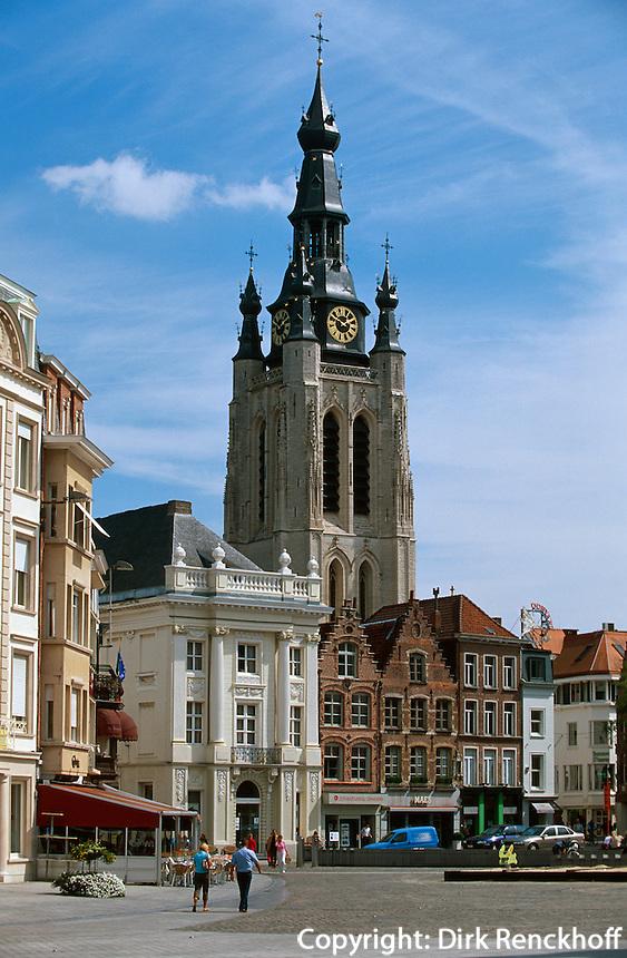 Belgien, Flandern, Martinskirche in Kortrijk