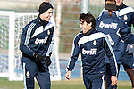 Madrid (24/02/10).-Entrenamiento del Real Madrid..Cristiano Ronaldo y Raul...© Alex Cid-Fuentes/ ALFAQUI..Madrid (24/02/10).-Training session of Real Madrid c.f..Cristiano Ronaldo and Raul...© Alex Cid-Fuentes/ ALFAQUI.