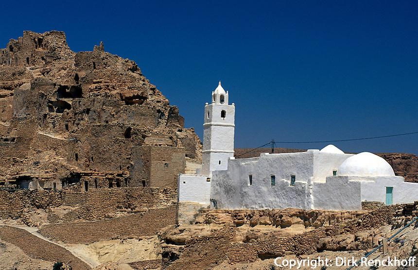 Speicherburg, Chenini, Tunesien
