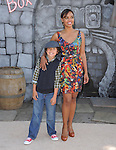 Sharon Leal and son Kai  attends DreamWorks Animation SKG L.A. Premiere of Puss in Boots held at The Regency Village  Theatre in Westwood, California on October 23,2011                                                                               © 2011 DVS / Hollywood Press Agency