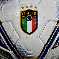 Puma offial Italy's ball named Final is seen on the pitch prior to the friendly football match between Italy and Moldova at Artemio Franchi Stadium in Firenze (Italy), October, 7th 2020. Photo Andrea Staccioli/ Insidefoto