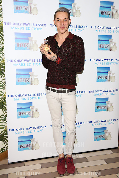 Bobby Norris arriving for the TOWIE Fragrance launch, The Only Way is Essex stars launch their new perfume 'The Only Way is Marbs', London, England. 06/05/2015 Picture by: James Smith / Featureflash