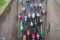 Later race winner Philippe Gilbert (BEL/Quick Step floors) sitting in the peloton early in the race<br /> <br /> 52nd Amstel Gold Race (1.UWT)<br /> 1 Day Race: Maastricht › Berg en Terblijt (264km)