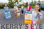 2019 Kerry Rose Sally Ann Leahy launches the Palliative Care Coffee Morning Launch at the unit on Saturday. The coffee morning will be held at the the centre in UHK on Thursday September 24th.<br /> Front right: Sally Ann Leahy.<br /> Back l to r: Joe Henerby, Bridie O'Connor, Mary Shanahan and Mairead Fernane