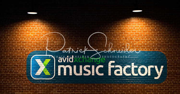 Photography of the AvidXchange Music Factory Charlotte Charlotte, North Carolina.  Charlotte's live music venue is a destination type place. This is Charlotte's hottest music and entertainment district.<br /> <br /> Charlotte Photographer - PatrickSchneiderPhoto.com