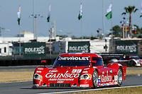 28-31 January, 2010, Daytona Beach, Florida  USA.Jimmie Johnson in the #99 Gainsco Chevrolet/Riley..©F. Peirce Williams 2010 USA.