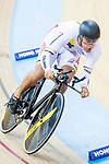Fabian Hernando Puerta Zapata of Colombia competes in the Men's Kilometre TT - Qualifying during the 2017 UCI Track Cycling World Championships on 16 April 2017, in Hong Kong Velodrome, Hong Kong, China. Photo by Chris Wong / Power Sport Images
