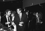 NINO MANFREDI, VITTORIO E DILETTA GASSMAN, E PAOLO E MAURA VILLAGGIO<br /> TEATRO SISTINA ROMA 1974