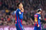 FC Barcelona's Neymar Santos Jr, Leo Messi during spanish La Liga match between Futbol Club Barcelona and Real Madrid  at Camp Nou Stadium in Barcelona , Spain. Decembe r03, 2016. (ALTERPHOTOS/Rodrigo Jimenez)