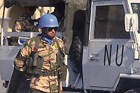 - mountain troops of Taurinense brigade  leaving for UN mission in Mozambique as peace force in 1993<br /> <br /> - alpini della brigata Taurinense in partenza per la missione ONU in Mozambico come forza di pace nel 1993