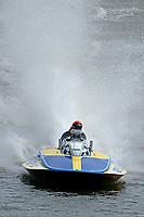 """Jim LaBrie, GP-111 """"Advance United"""" (1980 Grand Prix class Lauterbach hydroplane)"""