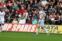 Pictured: Joe Allen of Swansea City in action. Saturday 17 September 2011<br /> Re: Premiership football Swansea City FC v West Bromwich Albion at the Liberty Stadium, south Wales.
