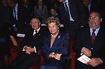 CARLO AZEGLIO E FRANCA CIAMPI CON OTTAVIANO DEL TURCO -  TEATRO ARGENTINA  ROMA 2000