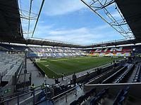 Für das Länderspiel vorbereitete Schauinsland Arena Duisburg - 24.03.2021: Abschlusstraining der Deutschen Nationalmannschaft vor dem WM-Qualifikationsspiel gegen Island, Schauinsland Arena Duisburg