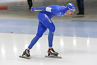 SPEEDSKATING: 22-11-2019 Tomaszów Mazowiecki (POL), ISU World Cup Arena Lodowa, 5000m Men Division A, Andrea Giovannini (ITA), ©photo Martin de Jong