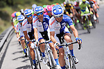 United Healthcare Pro Cycling on the front of the peloton during Stage 7 of the 2015 Presidential Tour of Turkey running 166km from Selcuk to Izmir. 2nd May 2015.<br /> Photo: Tour of Turkey/Mario Stiehl/www.newsfile.ie