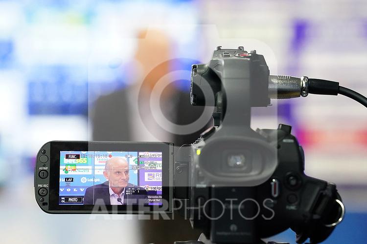 Getafe CF's General Manager Angel Martin. October 7, 2020. (ALTERPHOTOS/Acero)