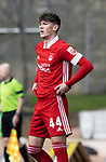 St Johnstone v Aberdeen…10.04.21   McDiarmid Park   SPFL<br />Calvin Ramsay<br />Picture by Graeme Hart.<br />Copyright Perthshire Picture Agency<br />Tel: 01738 623350  Mobile: 07990 594431