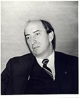 Marc Lalonde, <br /> 26 Novembre 1980<br /> <br /> PHOTO :   agence Quebec Presse