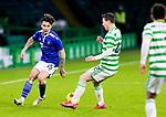 Celtic v St Johnstone…06.12.20   Celtic Park      SPFL<br />Danny McNamaranutmegs Callum McGregor<br />Picture by Graeme Hart.<br />Copyright Perthshire Picture Agency<br />Tel: 01738 623350  Mobile: 07990 594431