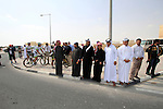 Locals before the start of the 1st Stage of the 2012 Tour of Qatar running from Umm Slal Mohammed to Doha Golf Club, Doha, Qatar, 5th February 2012 (Photo Eoin Clarke/Newsfile)