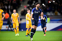 joie des joueurs de l equipe de France apres le but de Olivier Giroud (Fra) sur penalty<br /> Paris 20191114 Stade De France  <br /> Football France - Moldavia <br /> Qualification Euro 2020 <br /> Foto JB Autissier / Panoramic/Insidefoto <br /> ITALY ONLY