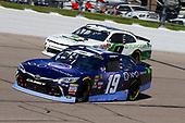 #19: Brandon Jones, Joe Gibbs Racing, Toyota Camry Toyota XYO Networks and #9: Tyler Reddick, JR Motorsports, Chevrolet Camaro BurgerFi