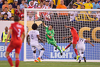Action photo during the match Peru vs Colombia, Corresponding to the quarterfinals of the America Cup 2016 Centenary at Metlife Stadium.<br /> <br /> Foto de accion durante el partido Peru vs Colombia, Correspondiente a los Cuartos de Final de la Copa America Centenario 2016 en el Estadio Metlife, en la foto: David Ospina<br /> <br /> <br /> 17/06/2016/MEXSPORT/Osvaldo Aguilar.