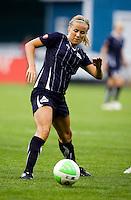 Lene Mykjaland. The Washington Freedom defeated the Saint Louis Athletica, 3-1.