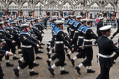 Funeral of ex-Prime Minister Margaret Thatcher, City of London.