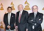 Alain Boublil, Herbert Kretzmer and Claude Michel Schonberg attends The Recording Academy Honors 2013 at 583 Park Avenue on June 25, 2013 in New York City.