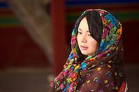 Girl at Drepung Monastery, Lhasa, Tibet