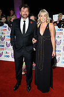Nick Knowles and Nikki Chapman<br /> arriving for the Pride of Britain Awards 2018 at the Grosvenor House Hotel, London<br /> <br /> ©Ash Knotek  D3456  29/10/2018