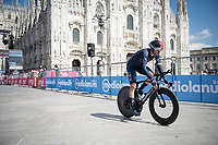 Gianni Moscon (ITA/Ineos Grenadiers) finishing in front of the Duomo in Milan<br /> <br /> 104th Giro d'Italia 2021 (2.UWT)<br /> Stage 21 (final ITT) from Senago to Milan (30.3km)<br /> <br /> ©kramon