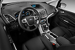 High angle dashboard view of a 2011 Ford Grand C-Max Titanium Mini MPV
