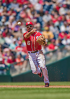 26 April 2014: Washington Nationals infielder Anthony Rendon in action against the San Diego Padres at Nationals Park in Washington, DC. The Nationals shut out the Padres 4-0 to take the third game of their 4-game series. Mandatory Credit: Ed Wolfstein Photo *** RAW (NEF) Image File Available ***