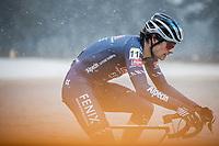 David van der Poel (NED/Alpecin-Fenix)<br /> <br /> Elite Men's Race<br /> Zilvermeercross Mol (BEL) 2021<br /> <br /> ©Kramon