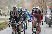 Tom Dumoulin (NED/Sunweb) forcing the pace<br /> <br /> 11th Strade Bianche 2017