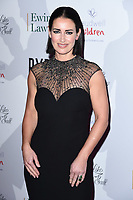Kirsty Gallacher<br /> arriving for the Float Like a Butterfly Ball 2019 at the Grosvenor House Hotel, London.<br /> <br /> ©Ash Knotek  D3536 17/11/2019